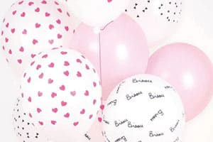 Anniversaire illustration ballons